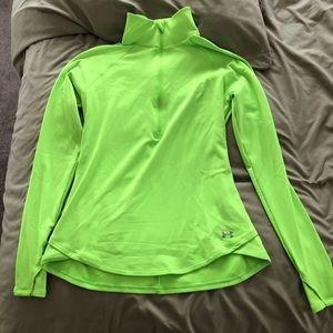 Women's XL Nike Bright Green Running jacket